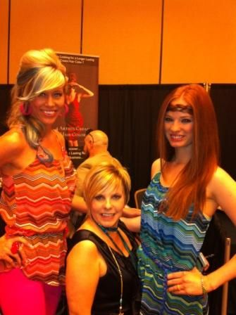 Lisa Brady and her 4-Artists Models