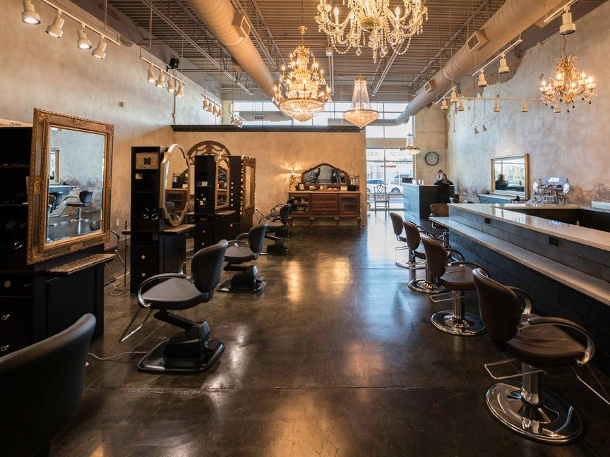 Medalyn Salon was designed to make each guest feel at home.