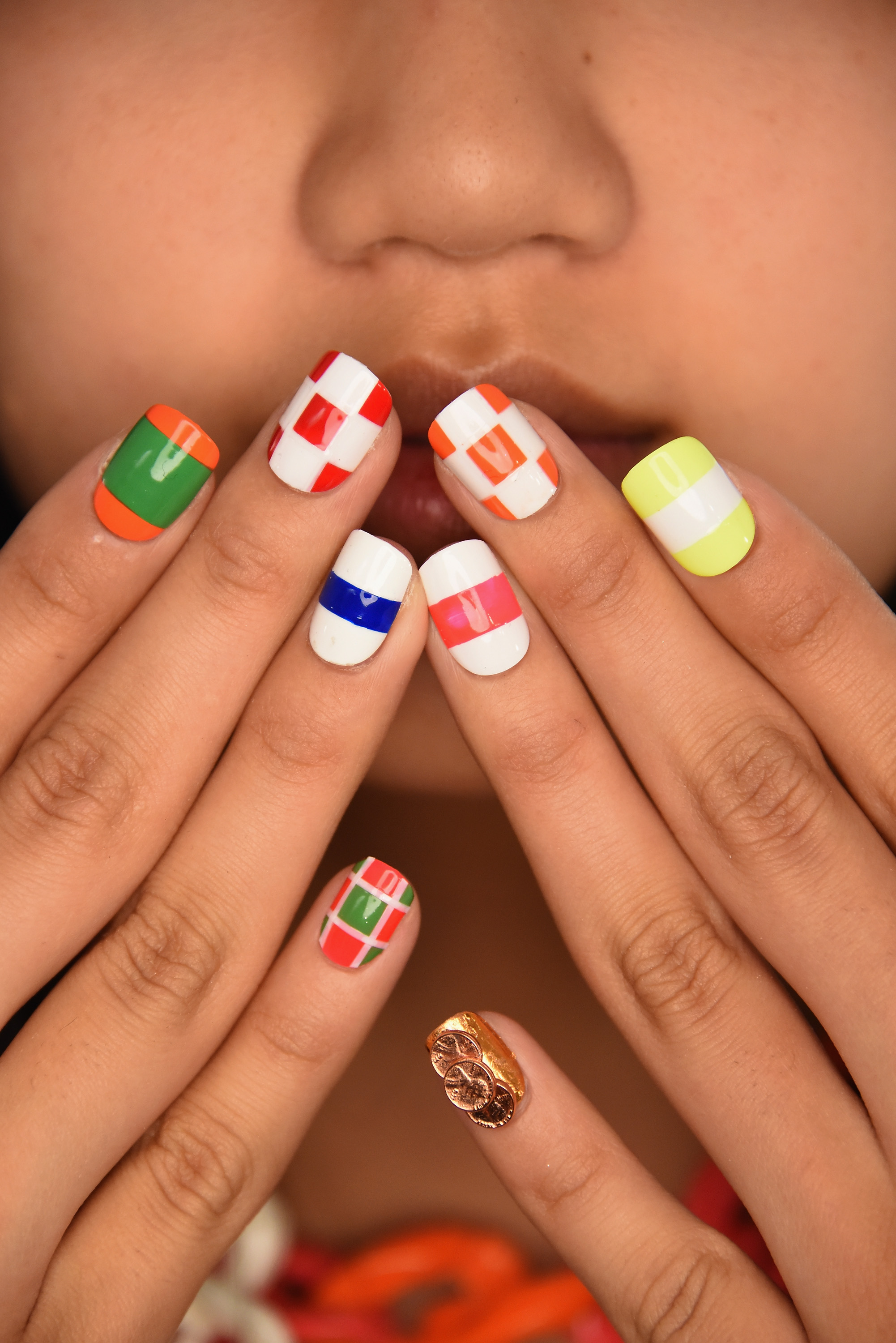 Finger Painting: Nail Art from NYFW 2015