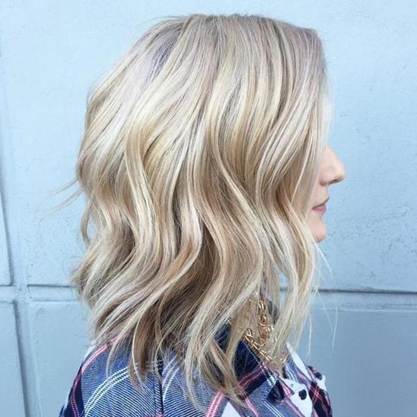 Winter Hair Color Trend: Icy, Blonde Balayage How-to