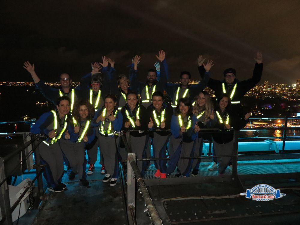 The KLC crew climbs the Sydney Bridge!