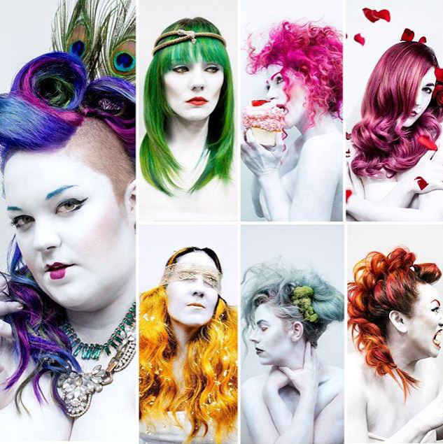COLLECTION: 7 Deadly Sins - Depicted Through Hair