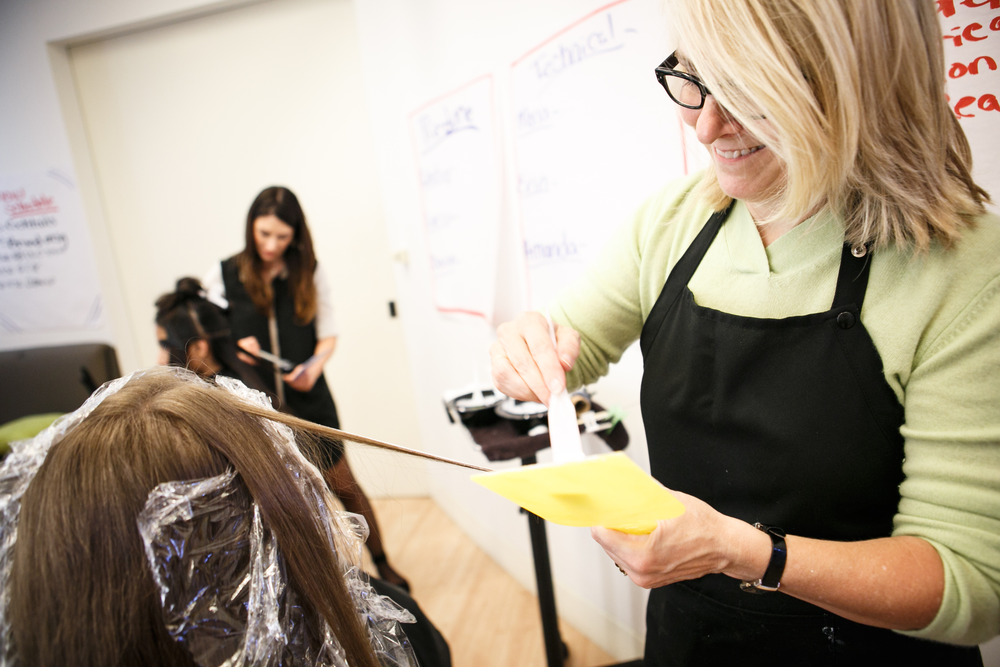 Braun's Balayage technique has been honed to the level of an art form and her approach has made her one of the most sought after colorists in the industry.