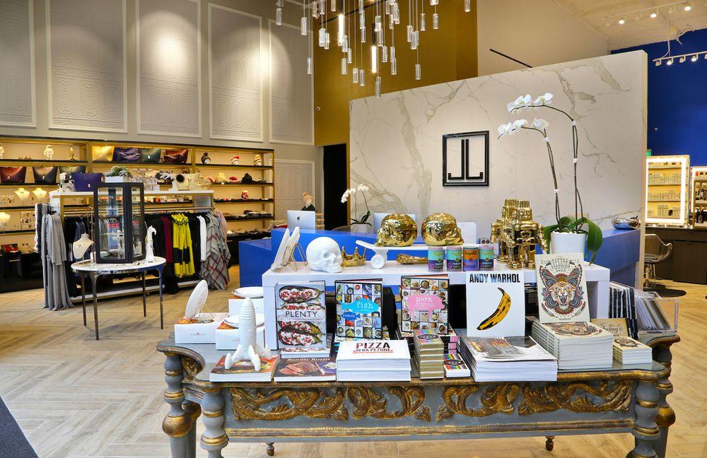 The boutique-style retail area encourage shopping.