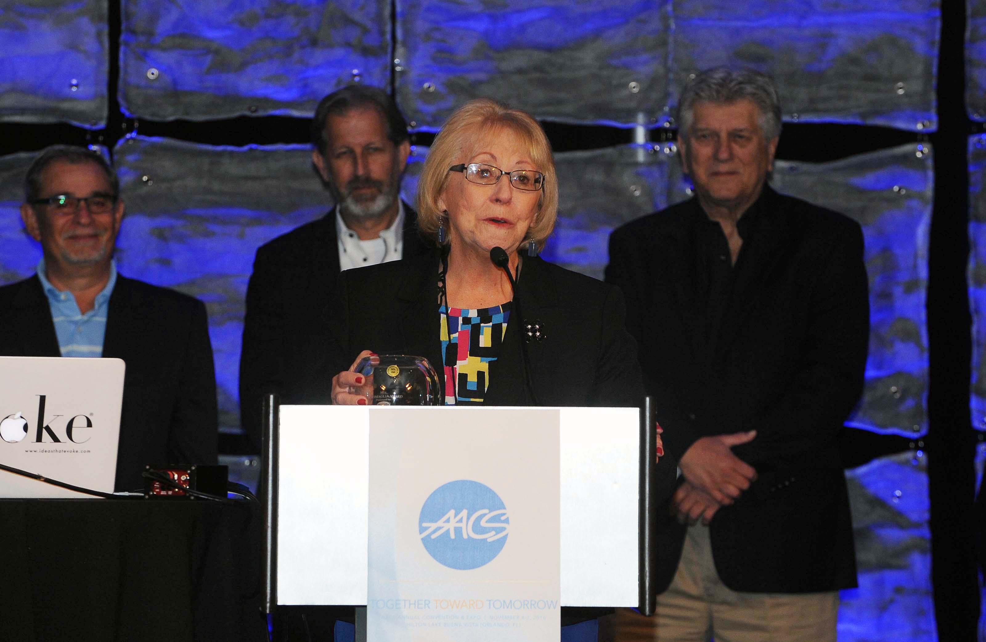 Milady & AACS Announce Sally Samuels as 2016 N.F. Cimaglia Award Recipient