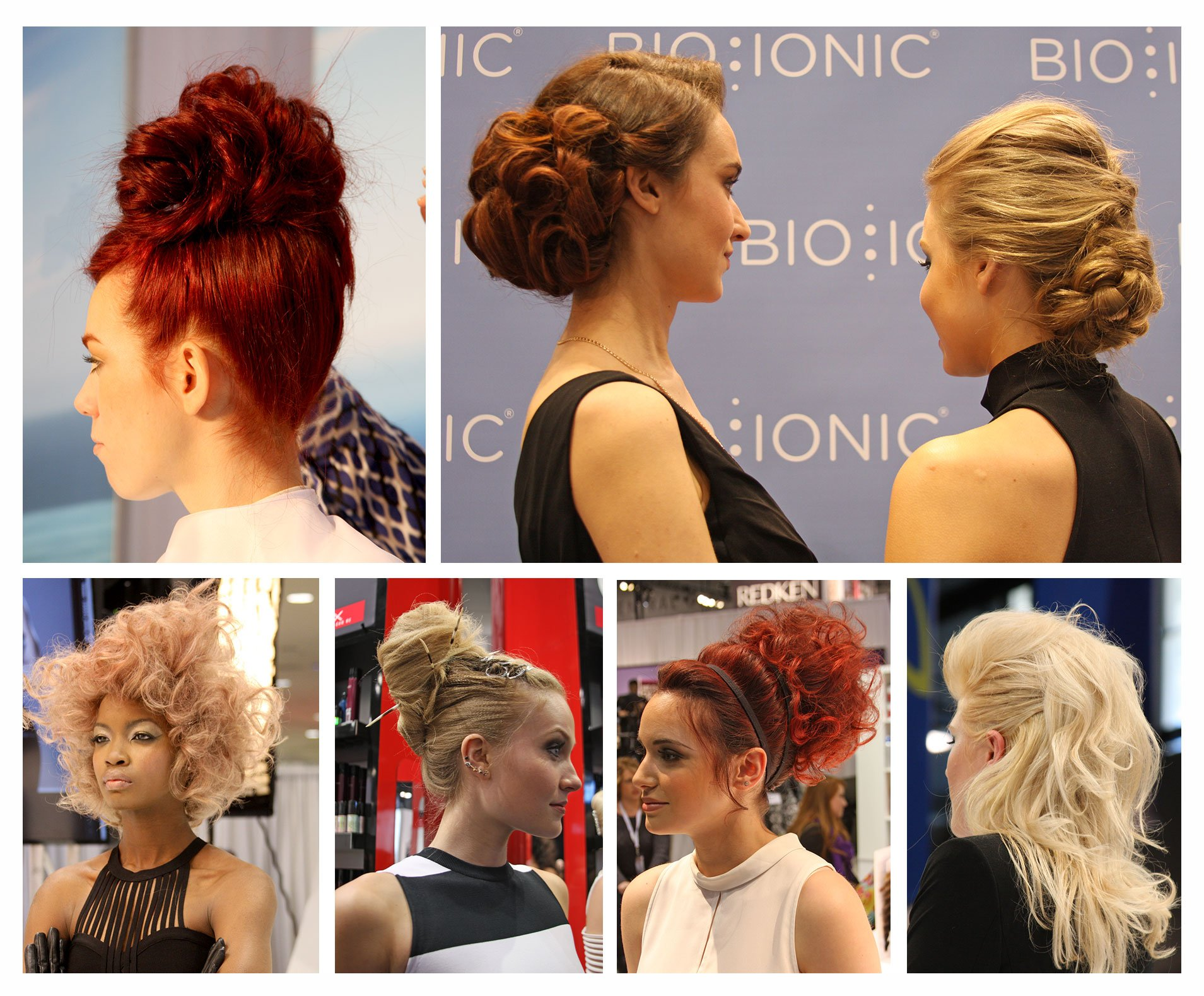 14 Chic and Stylish Upstyles From America's Beauty Show 2015