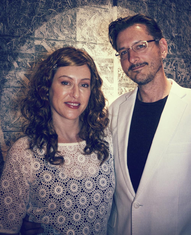 Charlene and Christian Stratton of Artbeat Salon & Gallery in Berkeley, California
