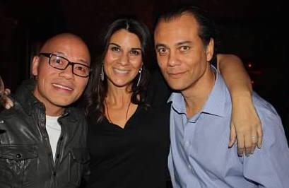 Kao Hui, Susanna Romano and Alain Pinon today.