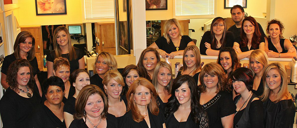 Staff of Salon Allure Inc. in Huntsville, Alabama