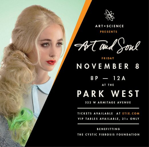 Art + Science Presents Art and Soul at Park West