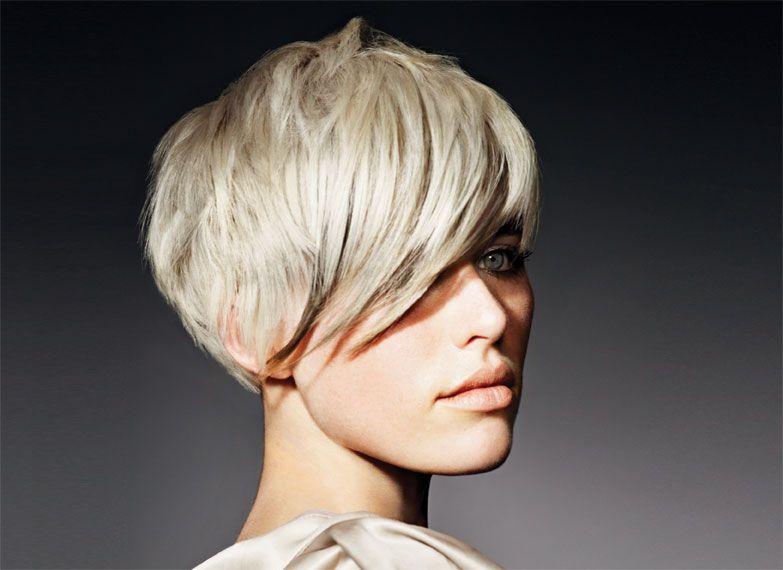 Hair and color: Alan Edwards Styling: Andrew Mitchell Formula: INOA 10.01, INOA 10.1, INOA 8.1, INOA Oleo Gel, INOA Rich Oxydant 20/30 Volume, Platinium Ammonia-free, Platinium Nutri-developer