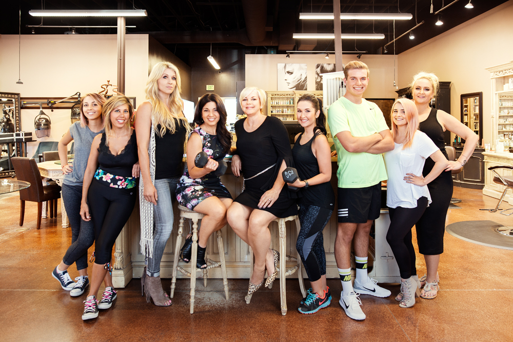 After Donna Huston and Denise Avallone challenged their team at Adaggio for Hair in El Dorado Hills, California, to each embrace three healthy habits of their choice for three months, the salon culture has shifted to one of wellness.