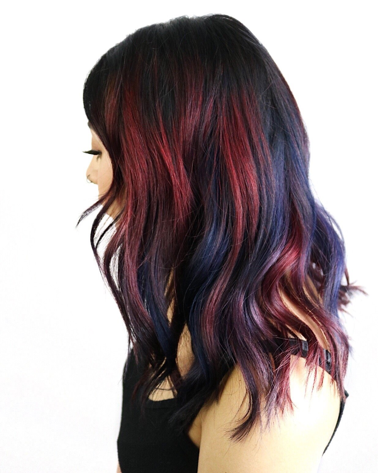 HOW-TO: Radical Bold Rainbow Haircolor Technique