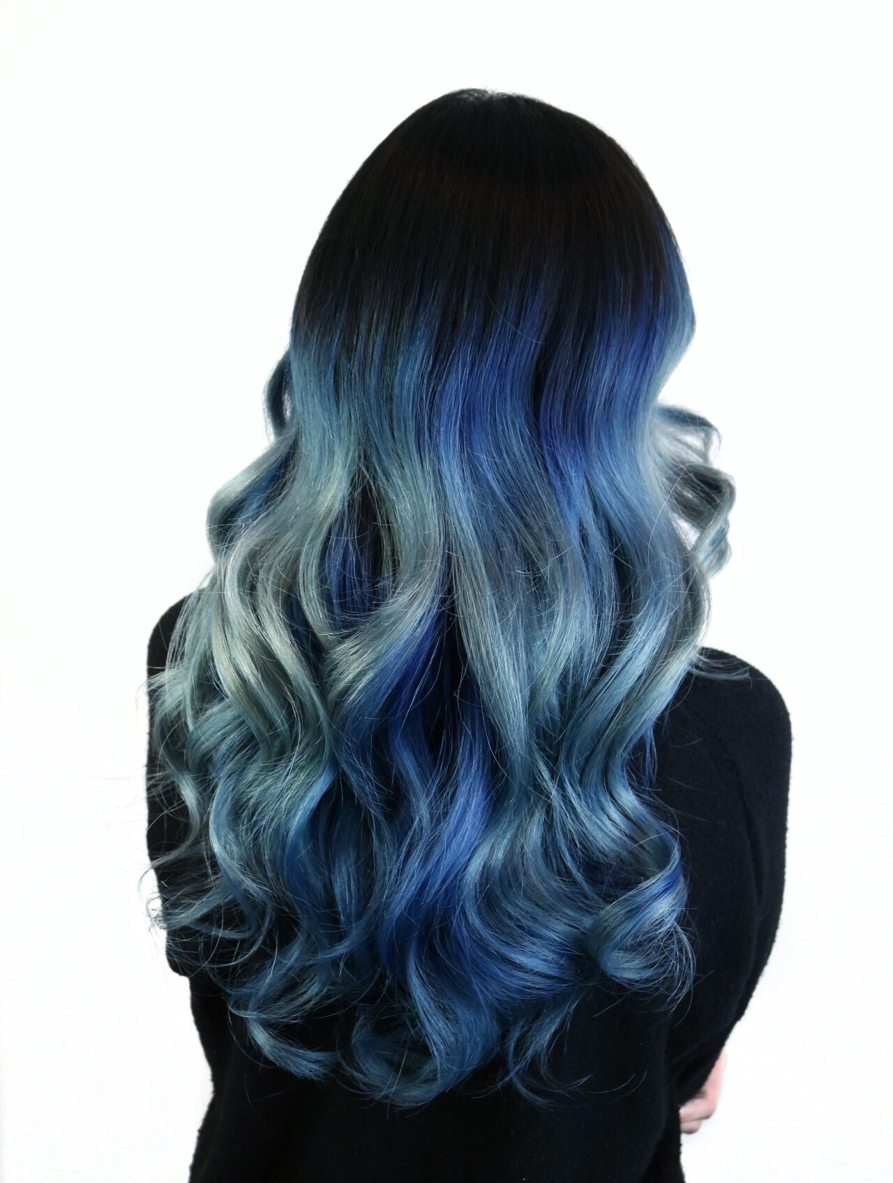 HOW-TO: Melted Cobalt Blue Hair Color