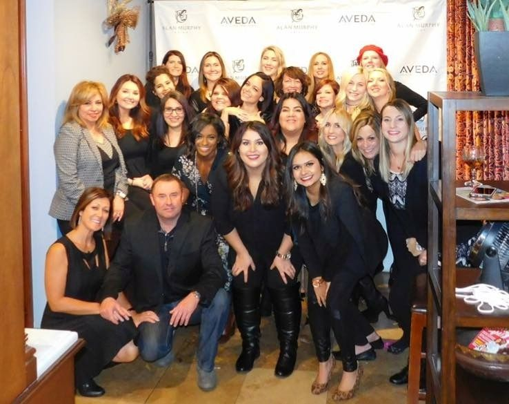 The team from the Alan Murphy Salon in Houston, TX.