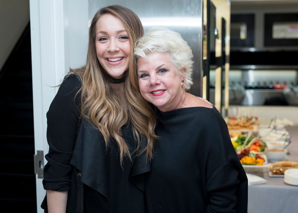 MODERN Editor in Chief Alison Alhamed with Maxine Salon owner Maxine Kroll. <em>Marcin Cymmer</em>
