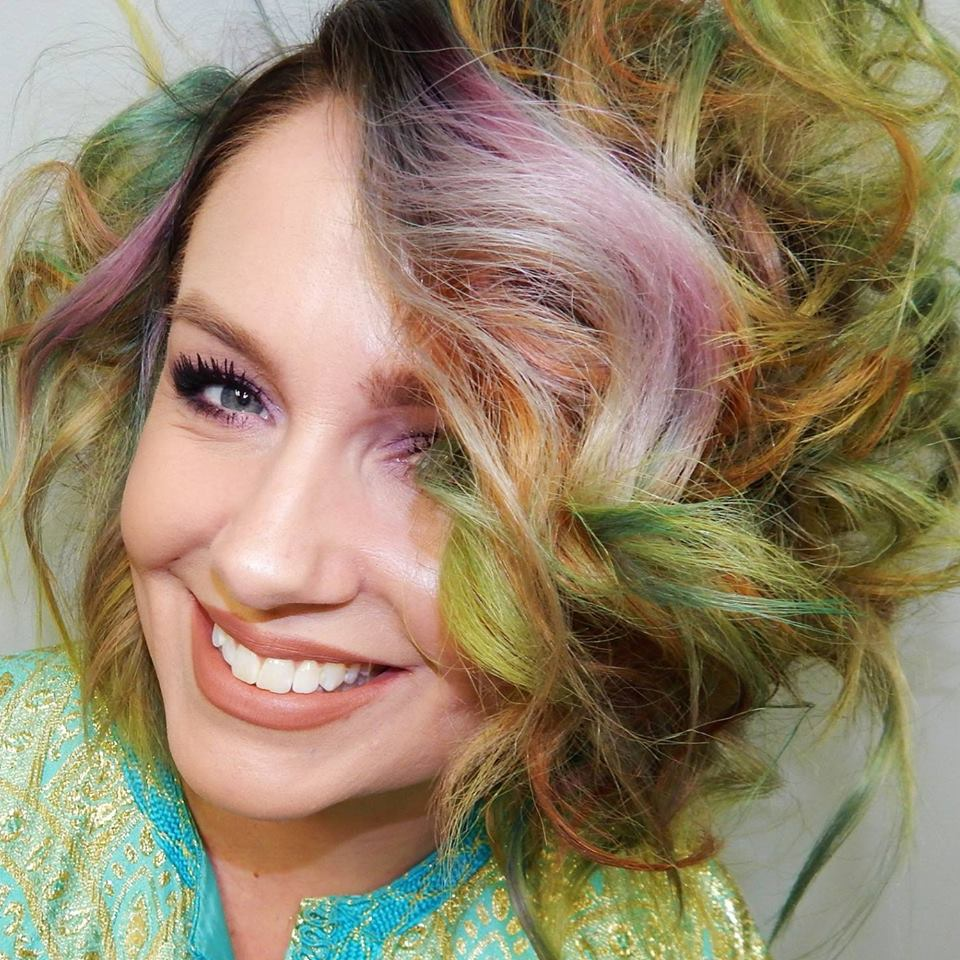 Alix Maya, owner of Unicorn Tribe Salon