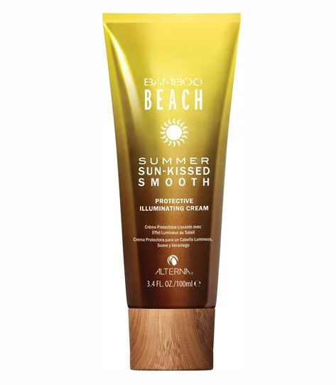New product: Alterna Bamboo Beach Summer Sun-Kissed Smooth, a multi-tasking styling cream that controls frizz while protecting from harsh UV rays.