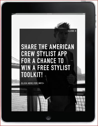 American Crew Introduces Stylist App