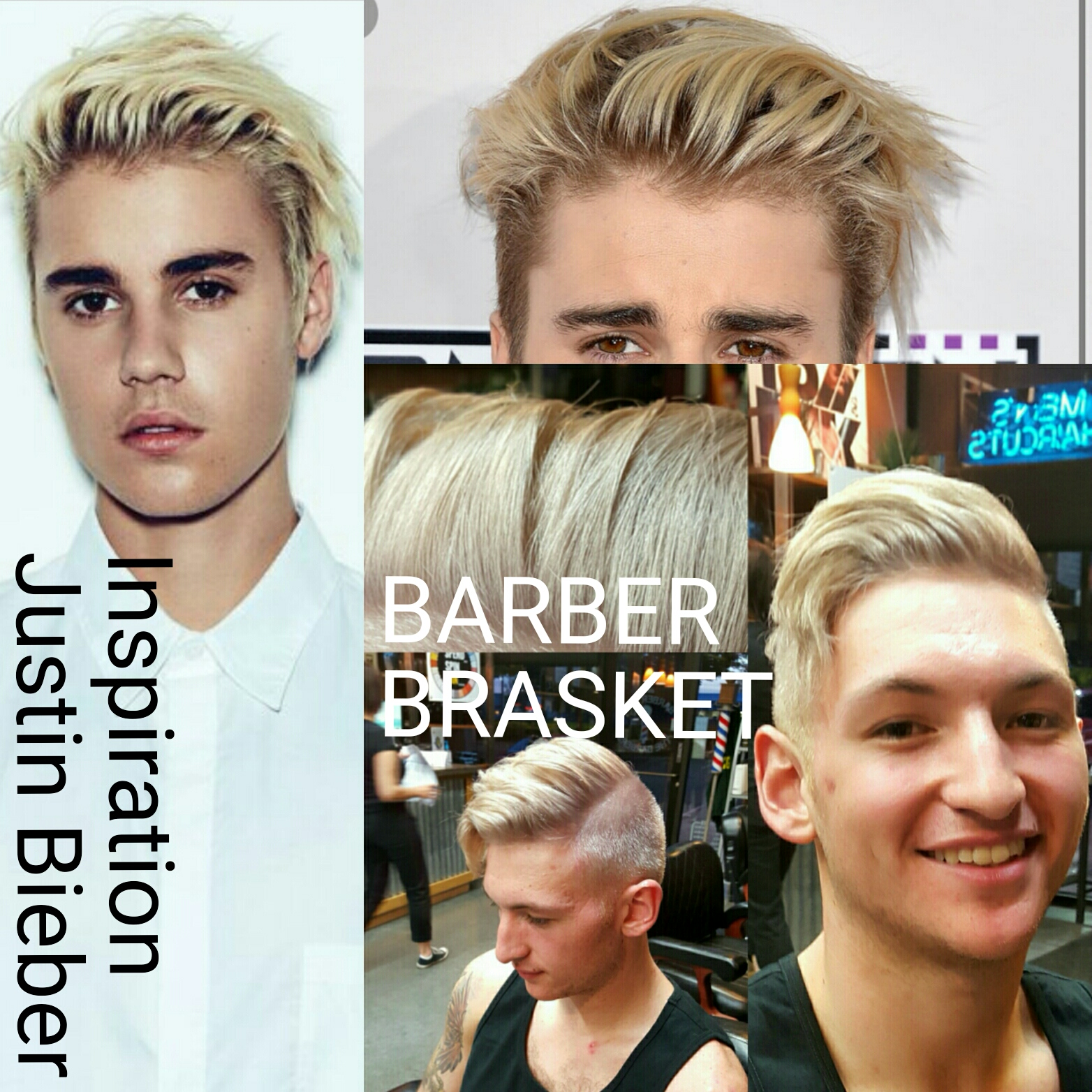 A Modern Haircut Inspired by the '90s and The Biebs