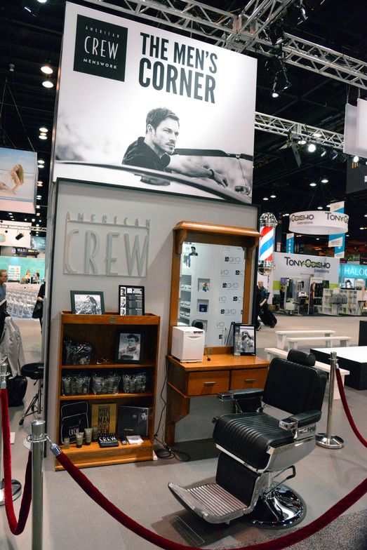 American Crew, Booth #2355
