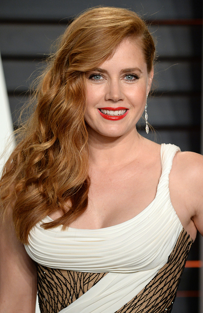 Oscars 2016: Amy Adams by Laini Reeves