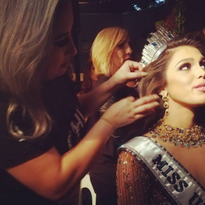 How-To: Creating the Hair Style That Wins the Day for Miss Universe