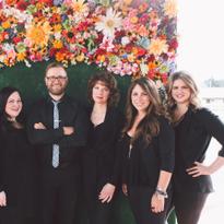 The management team at Annastasia Salon in Portland, Oregon.