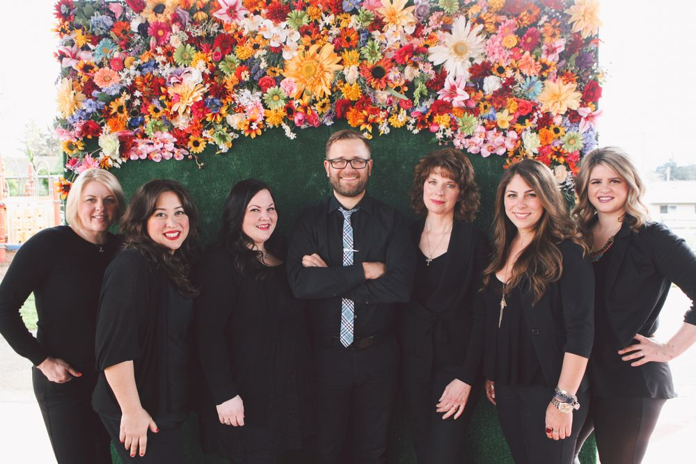 The management team from Annastasia Salon in Portland, OR.