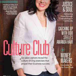 """Culture Club"" is the cover story of the April issue of Salon Today. To follow each salon's..."