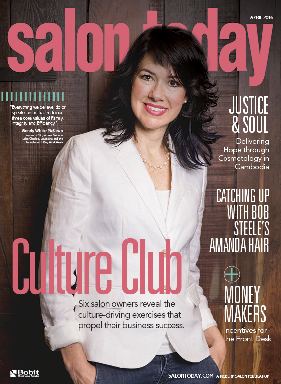 """Culture Club"" is the cover story of the April issue of Salon Today. To follow each salon's unique culture story, click on each link below."
