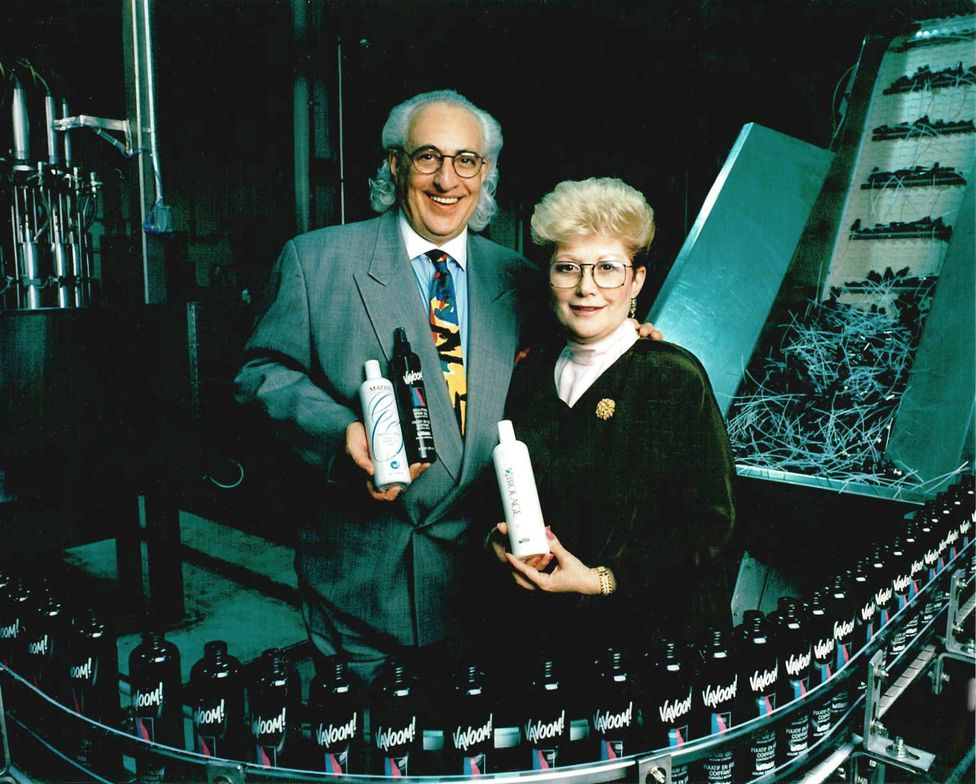 "<strong><a href=""https://www.matrix.com/hair-care"">Matrix </a>Co-founders Arnold (Arnie) and Sydell Miller</strong>"