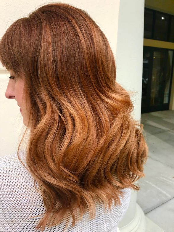 Hair color by <strong>Ashley Feht</strong>