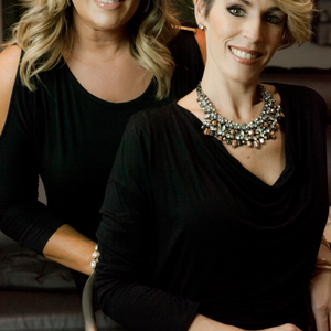 Sarah Wisda and Christy Vowers, owners of Aura Salon and Day Spa in Scottsdale, AZ.