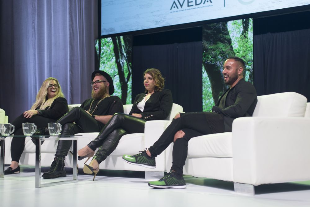 Dare to Grow Panel discussion from last year's event. Pictured (left to right): Sara Pestella, John Souza, Allison Buston & Alberto Rossell-Davis.