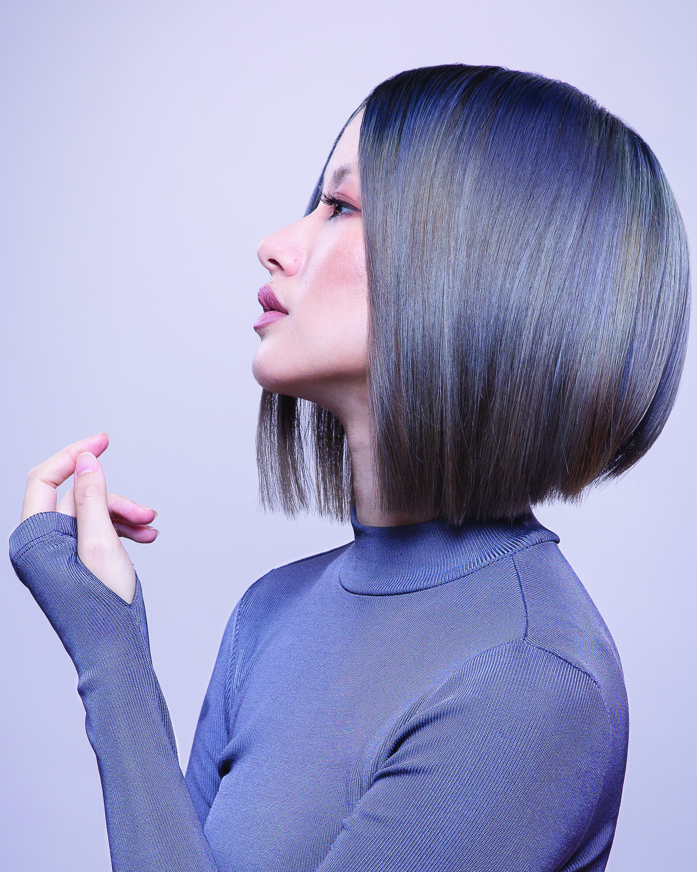 Dimensional Ash, Blue and Violet Color from Aveda