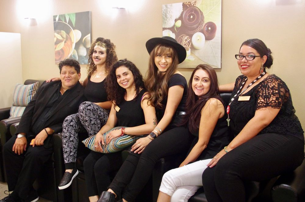 The team from Aveda Institute New Mexico in Albuquerque, NM.