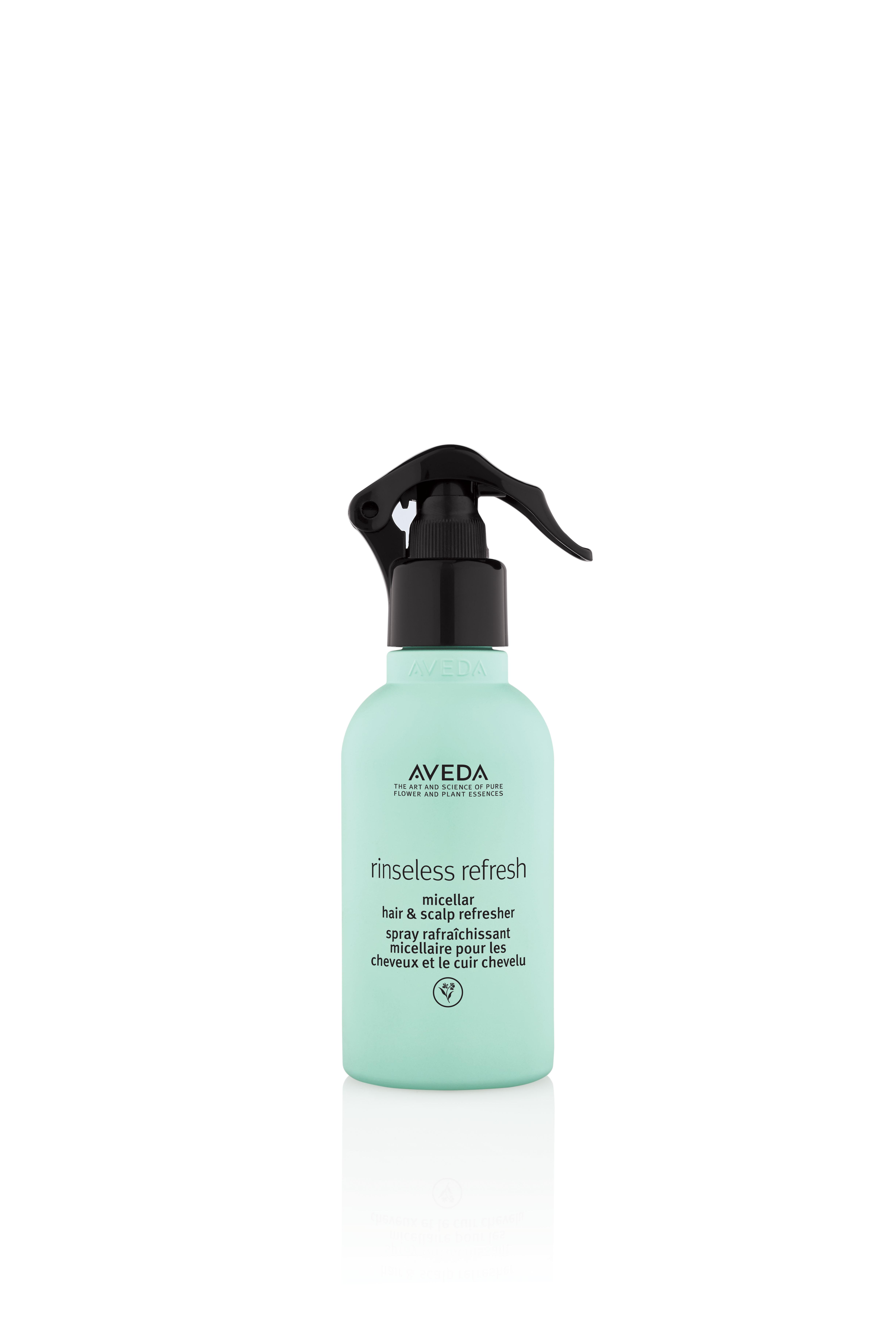 Aveda's New Vegan Rinseless Refresh Micellar Hair and Scalp Refresher