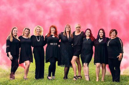 The team from Aya Salon & Spa from Petaluma, CA.