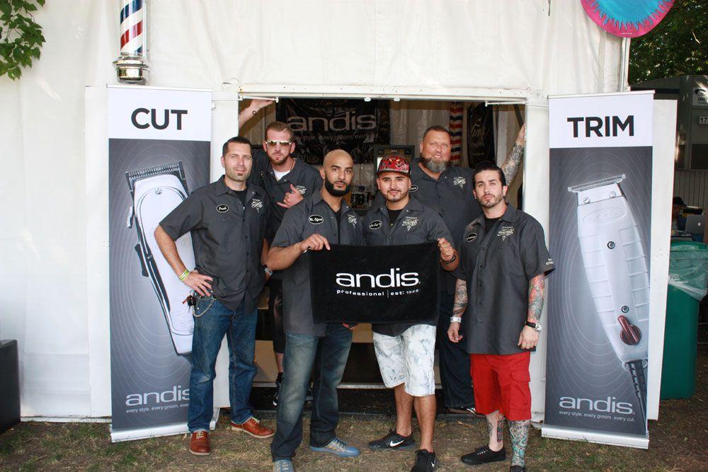 Barber Authority team