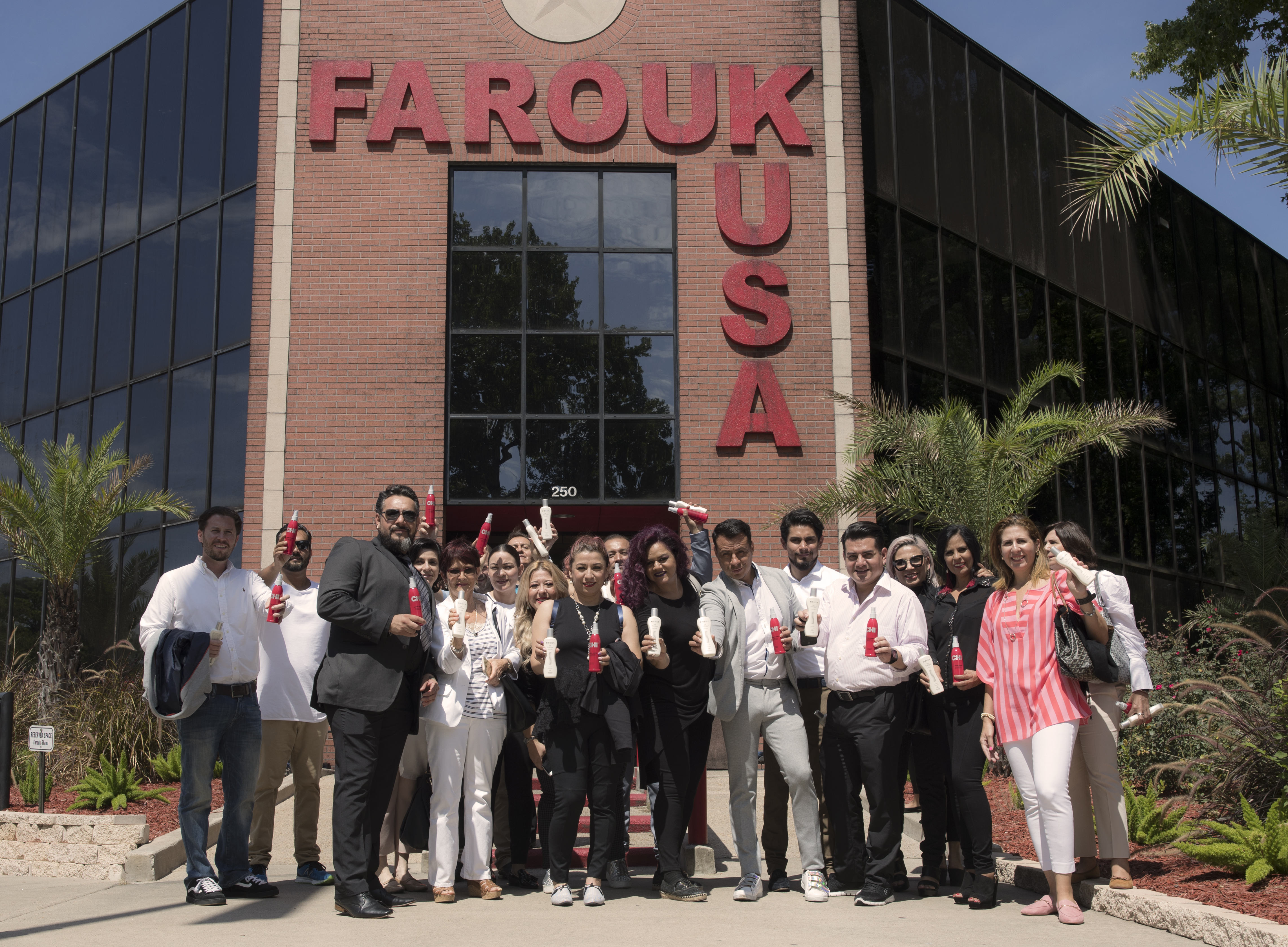 Farouk Systems Hosts Latin American Distributor Meeting