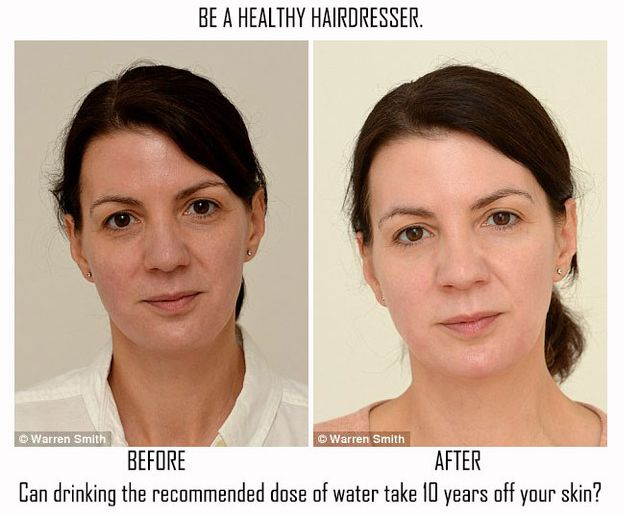 Can Drinking Water Take 10 Years Off Your Face and Body?
