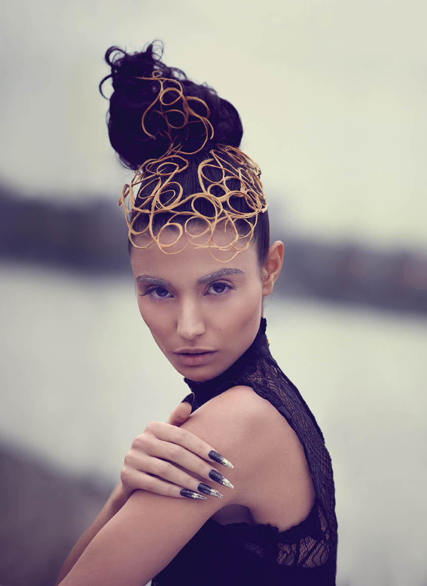 <strong>SELF-DEFINED BEAUTY:</strong> Hair by Ben Hudgins