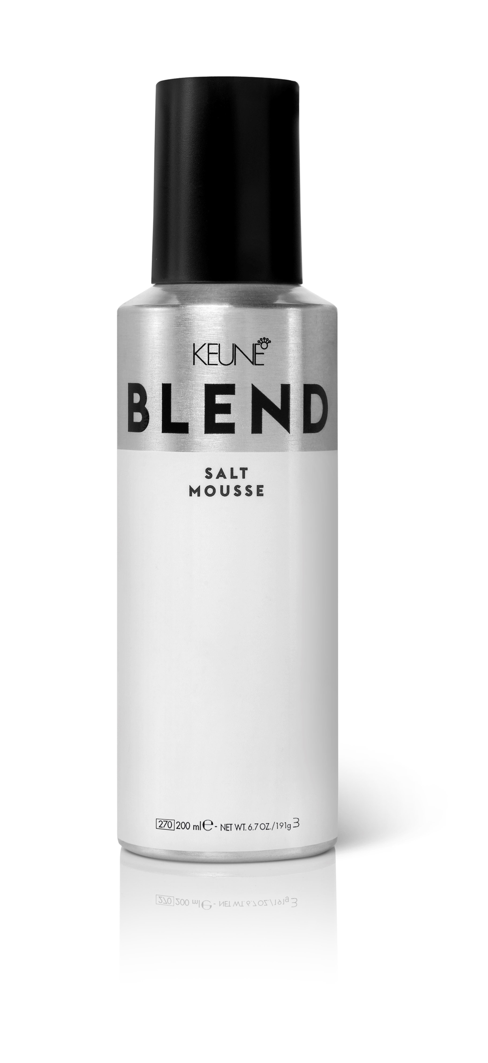"""<p>""""Keune BLEND Salt Mousse is meant for finer hair but can be used on anyone! The best part about this mousse is you don't always have to use heat to get it to do its thing, but when you do—woah, watch out! Massive volume! Touseled texture! And workable waves! It's is the only mousse I use on my hair and the<a href=""""https://www.instagram.com/explore/tags/1/"""">#1</a>mousse I sell to my clients!""""</p> <p>-@<a href=""""https://www.instagram.com/morganweir/""""><strong>morganweir</strong></a></p>"""