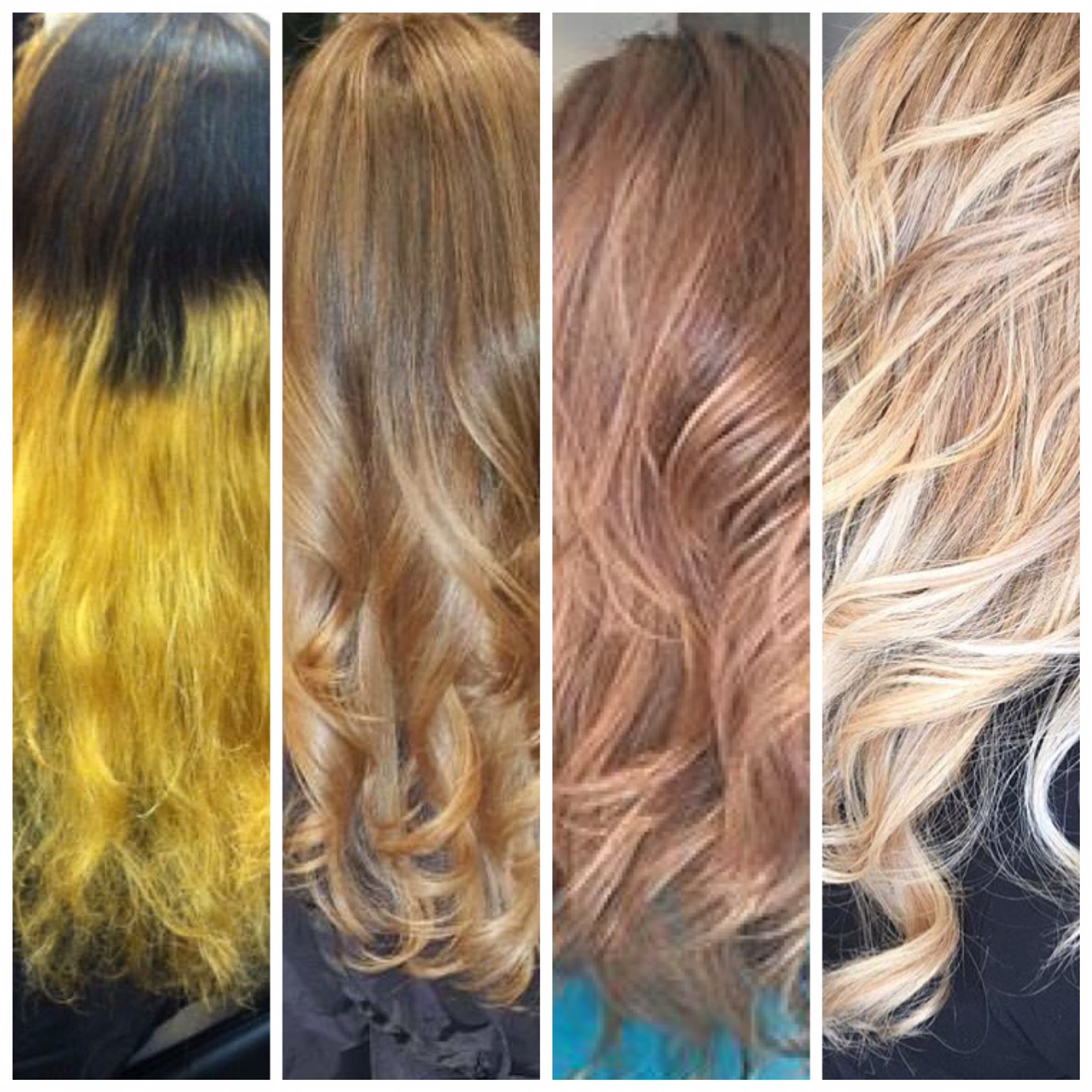 QUITE THE JOURNEY: Yellow Ombre To Bombshell Blonde