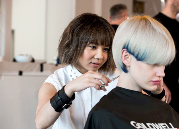 Mio Sota working behind the scenes to create the REMIX COLLECTION.