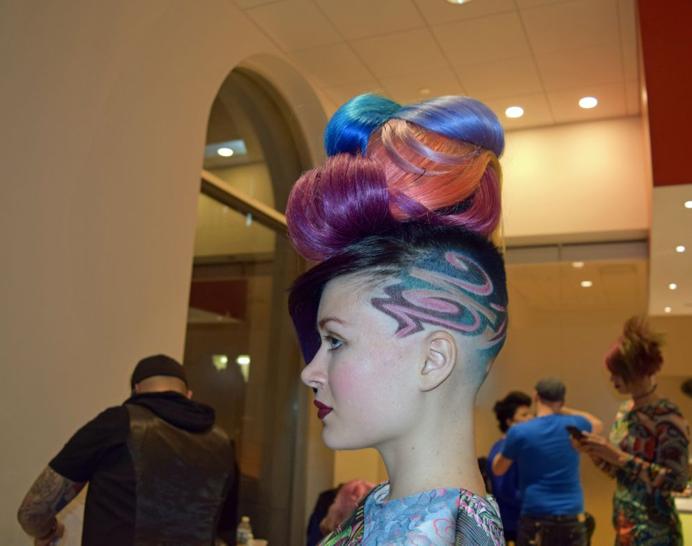 """It's all about mixing barbering and cosmetology and color."" <br />—Nicole Gary, BaByliss Pro mentor"