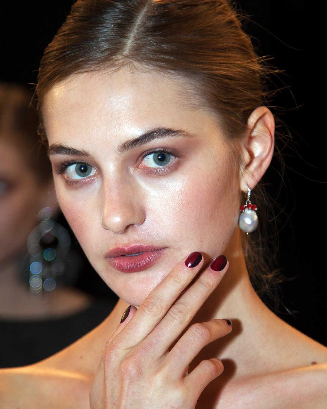NYFW: Deborah Lippman Nail Art for Hugo Boss, Badgley Mishka