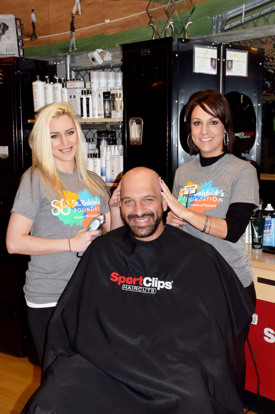 St. Baldrick's Foundation and Sport Clips Haircuts Partner to Support Childhood Cancer Research