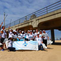 ColorProof Hosts a Beach Cleanup to Celebrate One Year of Incorporating Ocean Plastics as Part...